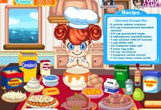 Игра Приготовление вкусных пирогов