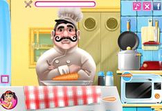 Игра Французский шеф повар