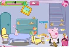 Игра Игра Свинка Пеппа Уборка комнаты
