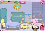 Играть бесплатно в Игра Свинка Пеппа Уборка комнаты