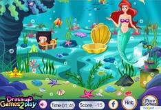 Игра Игра Принцесса Ариэль Уборка океана