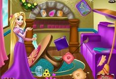 Игра Игра Рапунцель Уборка комнаты