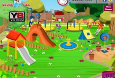 Игра Игра Уборка детского парка