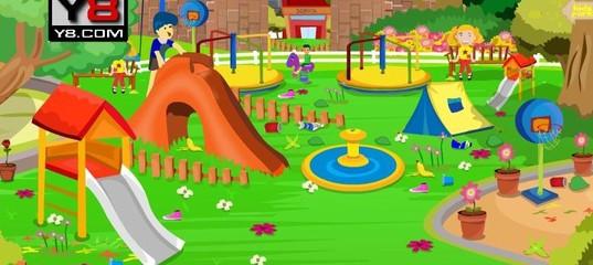 Игра Уборка детского парка