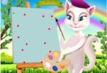 Игра Анжела рисует Джинжер