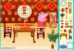 Игра Декор ресторана Пеппы