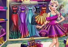 Игра Шоппинг принцессы Эльзы