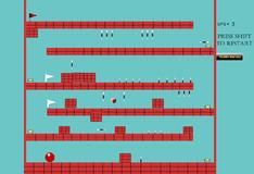 Игра Большой красный шар