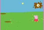 Играть бесплатно в Свинка Пепа прыгает по лужам