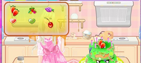 Игра Барби Кулинария