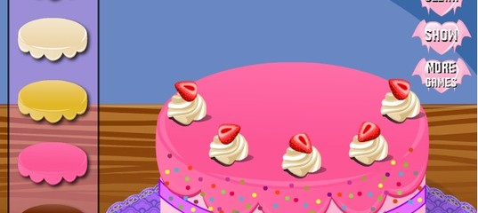 Игра В Школе Монстров готовят торт