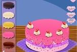 Играть бесплатно в Игра В Школе Монстров готовят торт