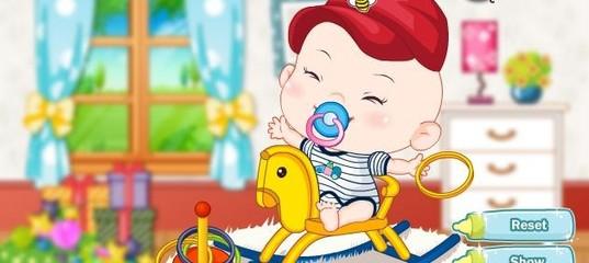 Игра Одеваем малыша