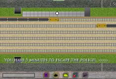 Игра Бегалки по поездам