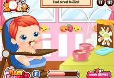 Игра Игра Смотреть за малышом