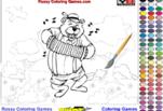 играйте в Раскрась медведя