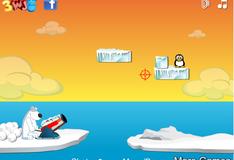 Игра Стреляй по пингвинам