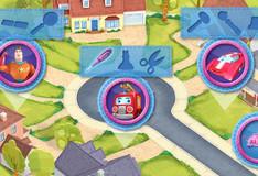 Игра Доктор Плюшева и машина скорой помощи