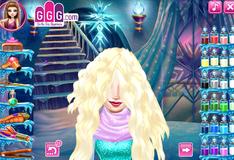 Игра Прическа для Эльзы