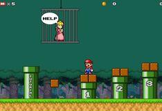 Игра Супер Марио - Сохранить персик
