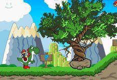 Игра Приключения Марио и Йоши