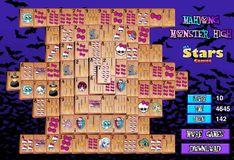 Игра Игра Школа монстров: Маджонг
