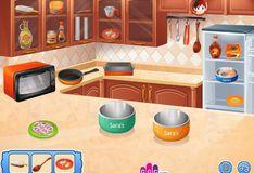 Игра Кленовый лосось: Кухня Сары