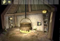 Игра Побег из домика колдуньи