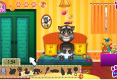 Игра Ежедневный уход за котенком Томом