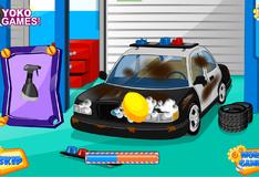 Игра Помыть машину спасателей