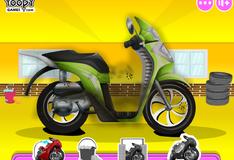 Игра Мыть мотоцикл
