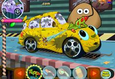 Игра Поу моет машину