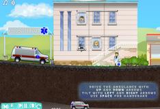 Игра Управление машиной скорой помощи