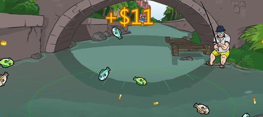 Игра Любительские действия Супер рыбалка