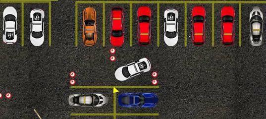 Игра Класс вождения: Парковка