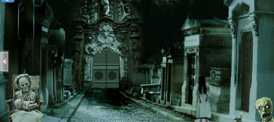 Игра Побег из кладбища
