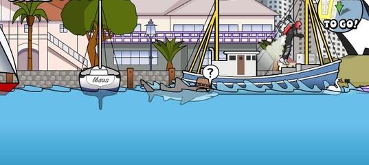 Игра Безумная Акула
