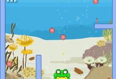 Игра Лягушка с шариком