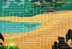 Игра Лягушачий лабиринт