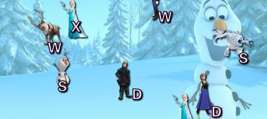 Игра Холодное Сердце Сбей Букву