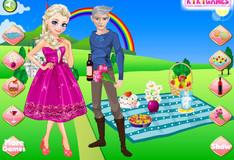 Игра Игра Романтическое свидание Эльзы и Джека