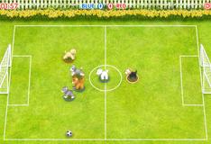 Футбол с питомцами
