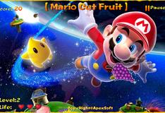 Марио режет фрукты