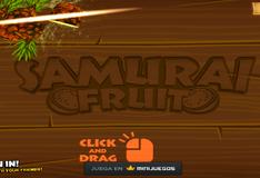 Игра Самурай фруктов