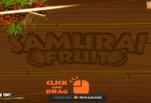 Играть бесплатно в Самурай фруктов