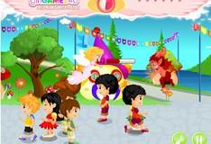 Игра Игра Демоны и Ангелы в детском городке
