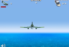 Самолеты над морем