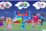 Играть бесплатно в Игра Шиммер и Шайн Принцесса и Дракон