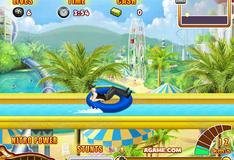 Игра Гонки в аквапарке 4