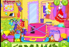 Игра Наряд для путешествий для Малышки Барби